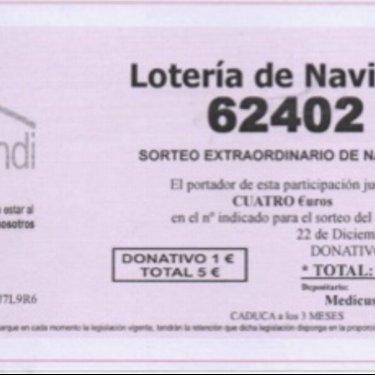 Ya tenemos la lotería solidaria medicusmundi norte en Cantabria