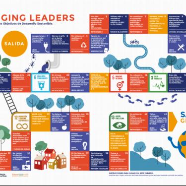 Juego de mesa Emerging Leaders. Vive el desafío de los ODS.