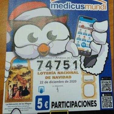 Ya a la venta la lotería de Navidad solidaria de medicusmundi La Rioja