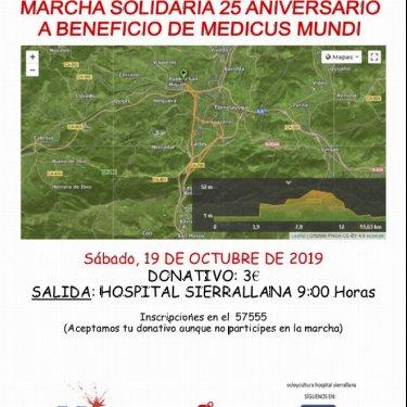 Marcha solidaria del Hospital Sierrallana a favor de medicusmundi norte