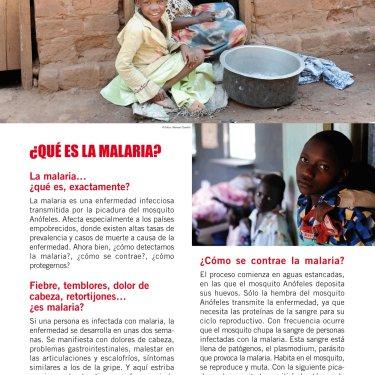 Malaria, el reto de la pobreza