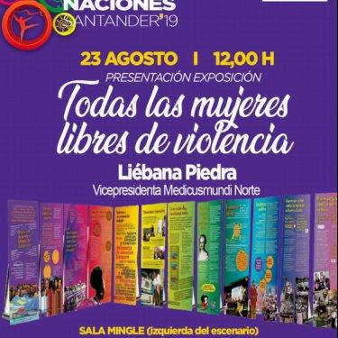 Todas las mujeres libres de violencia en el Festival Intercultural de las Naciones