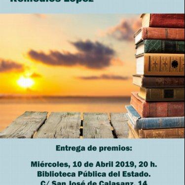 """Entrega de Premios de la VI Edición del Certamen de Relatos Solidarios """"Remedios López"""""""