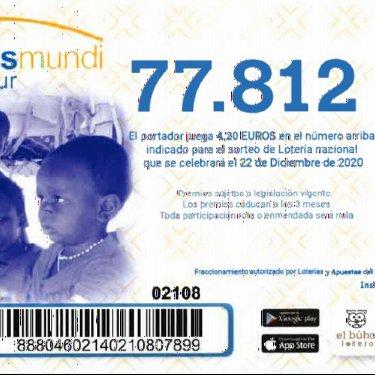 Lotería de Navidad de mmSur : Tu participación es Salud