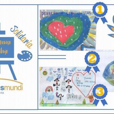 Entrega de los premios del XII Concurso de dibujo Navidad Solidaria de medicusmundi cantabria