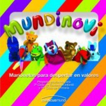 Las marionetas Mundinovi en el Colegio María Torner de Mompía